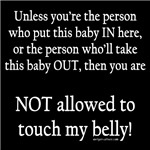 Don't Touch My Bump and Other Scars that Stick.