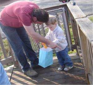 daddy helps