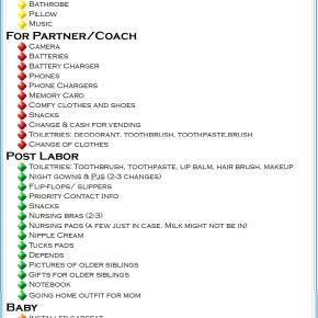Hospital Checklist: NowPrintable!