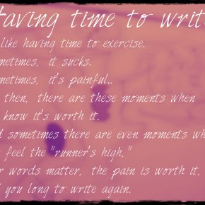 Writing from a Writer's Point ofView.