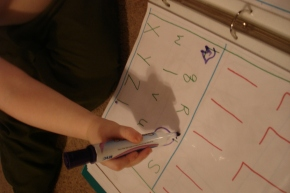 Preschool at Home: The Letter Book