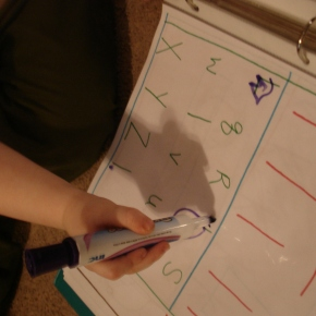 Preschool at Home: The LetterBook