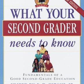 Second Grade Curriculum,Check!