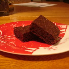 Recipe Monday: Classic, Peanut-Free, From-ScratchBrownies!