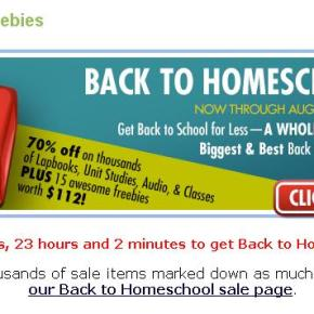 FREE Homeschooling Downloads and Printables…and Not the CrappyKind!
